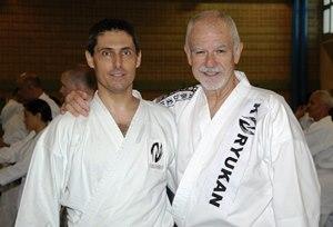 Marco Forti con Hanshi Patrick McCarthy