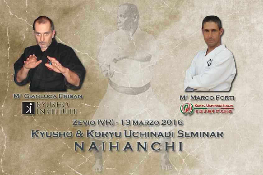 Naihanchi: seminario congiunto di Kyusho e Koryu Uchinadi