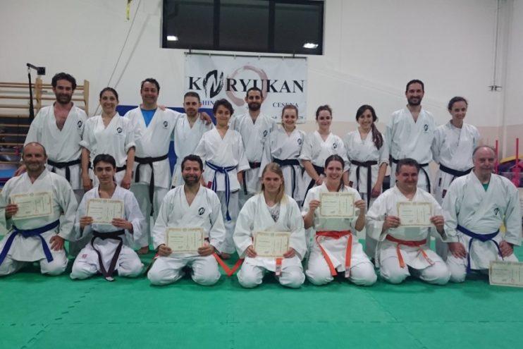 Esami di Kyu corsi per adulti - 8 giugno 2017