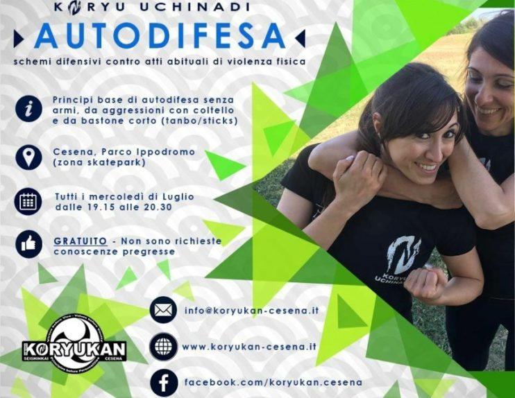 Lezioni estive gratuite di Koryu Uchinadi a Cesena