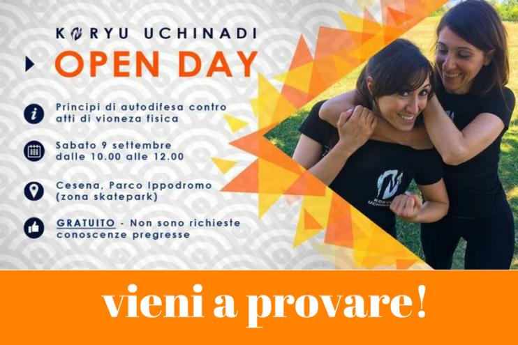 Koryu Uchinadi Open Day: vieni a provare!!