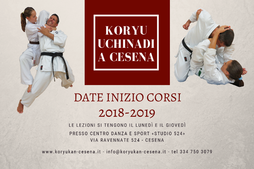 Koryu Uchinadi a Cesena: corso adulti principianti