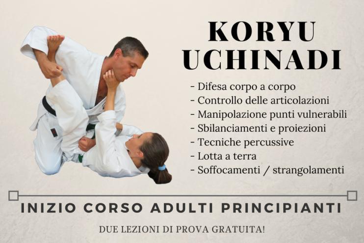 Inizio corso di Koryu Uchinadi per adulti principianti a Cesena