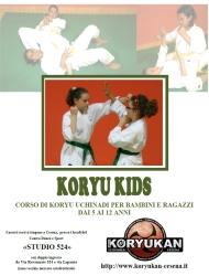 Corsi di Koryu Uchinadi per bambini e ragazzi a Cesena