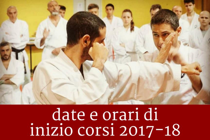 Koryukan Cesena: date e orari di inizio corsi 2017-18
