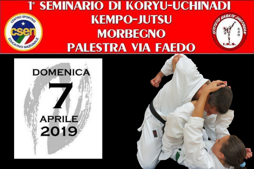 Seminario di Koryu Uchinadi a Morbegno (SO)