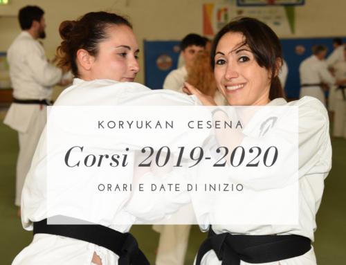 Il calendario dei corsi 2019/2020 è online!