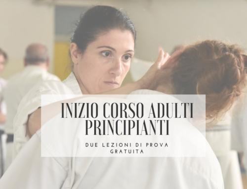Inizio corso adulti principianti 2019-2020