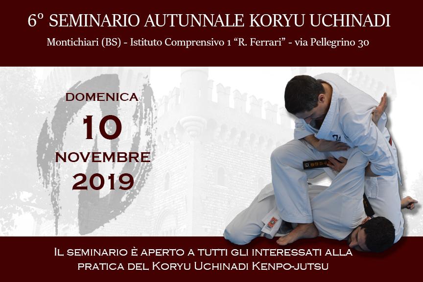 6° Seminario Autunnale Koryu Uchinadi
