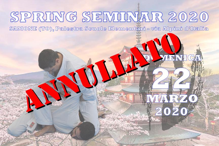 Spring Seminar 2020 - ANNULLATO