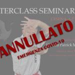Masterclass Seminar 2020 - ANNULLATO